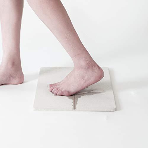 soil GEM ソイル ジェムシリーズ 珪藻土 バスマット Sサイズ / お風呂マット 防カビ 防菌 抗菌