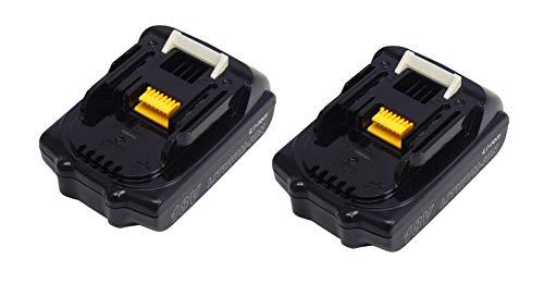 BL1815 BL1815N Reemplazar 2 Piezas 18V 1500mah Batería Herramienta 196235-0 para Makita DDF484Z RMB100 HP457D LXFD01 BML185 DHP482Z DTD152Z XPH01