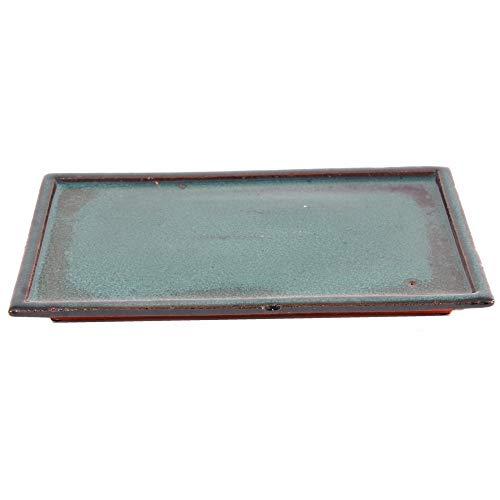 Bonsai 53350 Dessous de Verre carré Vert 28 x 17 cm
