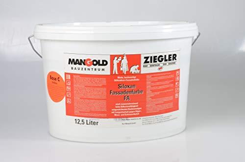 Mangold 12,5 l Siloxan Fassadenfarbe farblos C weiß