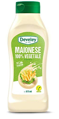 Squeezer Maionese Vegana Develey 875 ml
