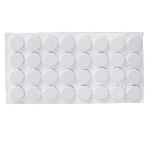 Sourcingmap - Tope de puerta de silicona para múltiples superficies con cuñas para puerta, sin rayar blanco