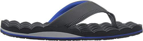 Volcom Sandalias para Hombre reclinables, Combo Azul, 9 M US