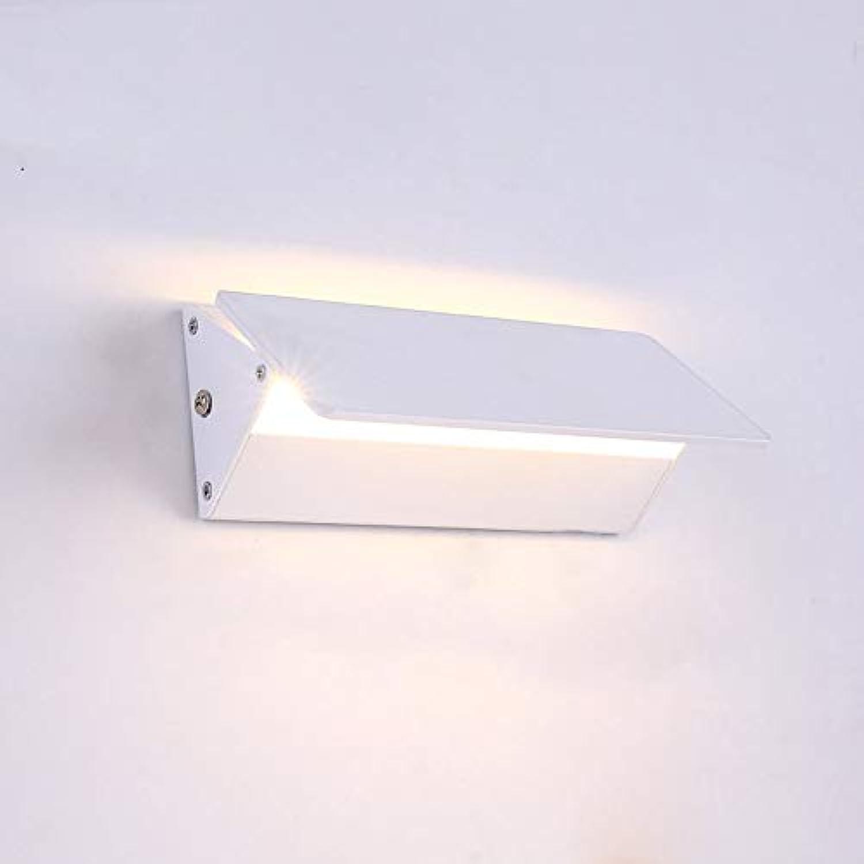 ATR Lampe MEI nachtlicht LED Wand Moderne Aluminium Spiegel Kabinett Lichter Badezimmerspiegelfrontleuchten energiesparende (Gre  18  8 cm)