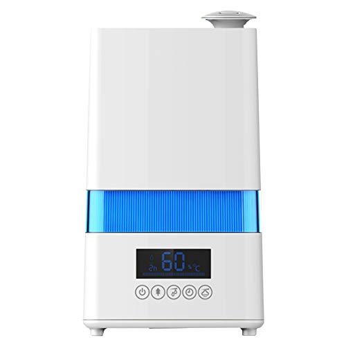 Ardes AR8U20 Umidificatore Igrometro Ozonizzatore Nebulo Digital ad Ultrasuoni 30 W capacità 4,5 Litri, Bianco