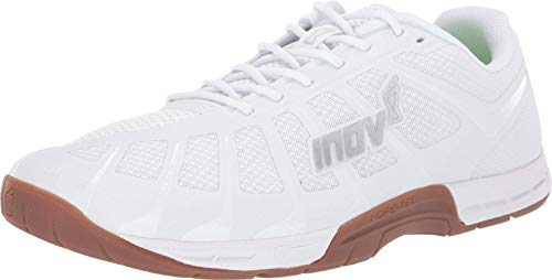 Inov-8 Mens F-Lite 235 V3 - Cross Trainer Shoes - Lightweight and Flexible - White/Gum - 9.5