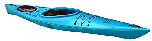Point65nJolly Roger Raider Tourenkajak Freizeitkajak Kajak mit Steueranlage, Farbe:Blau, Ausstattung:Mit Ruder