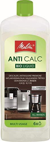 Melitta Descalcificador Bio Multi, Limpiador Express, Automáticas, Cafeteras de Goteo, Líquido Biodegradable, 6 Usos, 250 mililítros, 0.25 litros