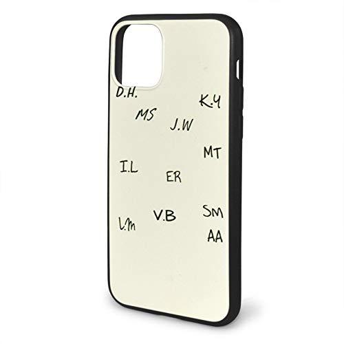 Leonsense Teen Wolf | Senior Scribe Funda de Teléfono Negra Compatible con iPhone 12/12Pro MAX 11 11 Pro MAX XR XS SE 2020/7/8 6/6s Plus Samsung Series Caso