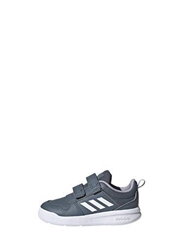 adidas TENSAUR I, Zapatillas Unisex bebé, AZULEG/FTWBLA/GRIGLO, 18 EU