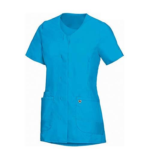 BP 1764-241-0114-XSn damestas, superlichte stof, 150,00 g/m² stofmix met stretch, curaçao-blauw, XSn