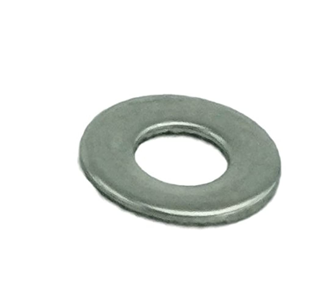Stainless #8 Flat Washer, Stainless Steel 18-8 (100 pcs, 8 Flat Washer)