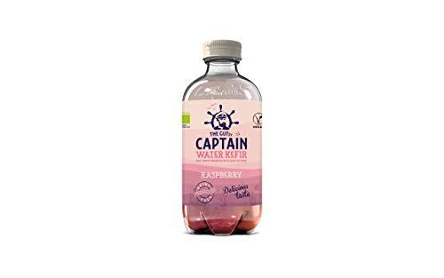 The Gutsy Captain Kefir Water Raspberry, 400 ml x 12