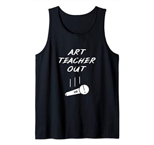 Kunstlehrer Im Ruhestand Aus Mic Drop Retired Art Teacher Tank Top