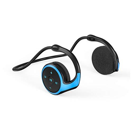 AQUYY Auriculares Deportivos Inalámbricos Bluetooth, Cascos Ligeros Plegable con Sonido Estéreo HD,...