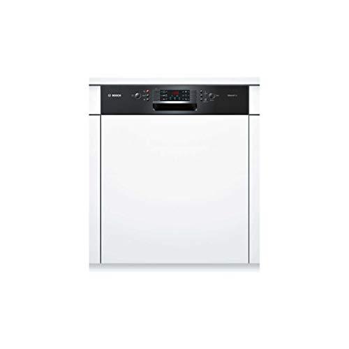 Lave vaisselle encastrable Bosch SMI46AB01E - Lave vaisselle integrable 60 cm - Classe A+ / 46 decibels - 12 couverts - Intégrable bandeau : Noir