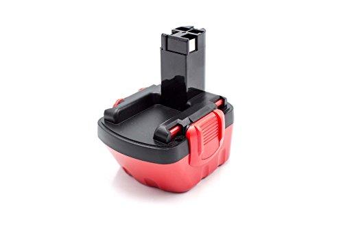 vhbw NiMH batterie 1500mAh (12V) pour outil électrique outil Powertools Tools Bosch GSR 12V, JAN-55, PAG 12, PSB 12 VE-2, PSR 12, PSR 12VE