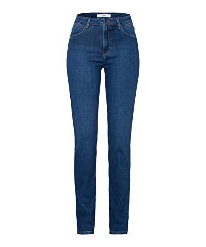 Preisvergleich Produktbild BRAX Damen Style Shakira Jeans,  Slightly Used Regular Blue,  38 Lang