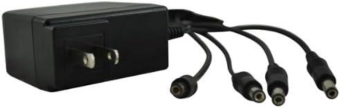 REVO America R12VPWR1TO4 4 Channel 12V Power Supply (Black)