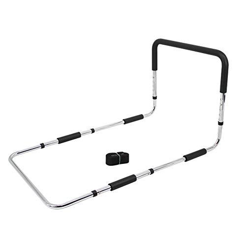 qwe Verstellbares Bettgestell – Medizinisches Bett mit Stützstange – Löffelgriff für Behinderte, Senioren, Erwachsene und Kinder