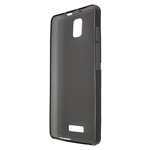 caseroxx TPU-Hülle für Alcatel One Touch Pop Star 4G 5070, Handy Hülle Tasche (TPU-Hülle in schwarz-transparent)