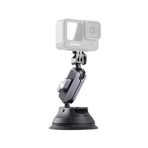 PGYTECH saugnapf für DJI OSMO Pocket 2, Gopro 9, DJI OSMO Action, Insta360 ONE, Action-Kameras Mount Saugstativ