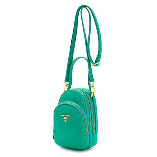 Dames schoudertas, waterdichte casual messenger tas outdoor schouderriem borstzak met koptelefoon poort wandelen