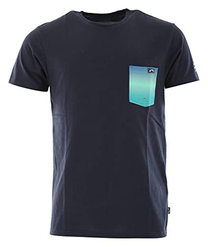 Billabong Herren Team Pocket T-Shirt T-Shirt Top - Navy - Kurzarm