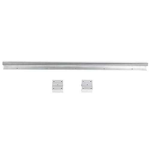 Caiqinlen Deslizador de riel Lineal, Duradero Sbr30S + 2 X Sbr30Uu Práctico Bloque Deslizante de guía de aleación de Aluminio, Alta precisión para Clase de precisión de 1000 mm / 39,4 Pulgadas H