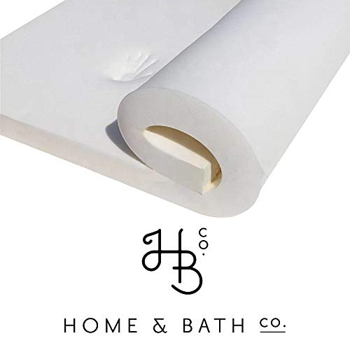Home & Bath Co. Memory Foam Mattress Topper 2' Deep All Bed Sizes Soft & Squishy Made In The UK (Double)