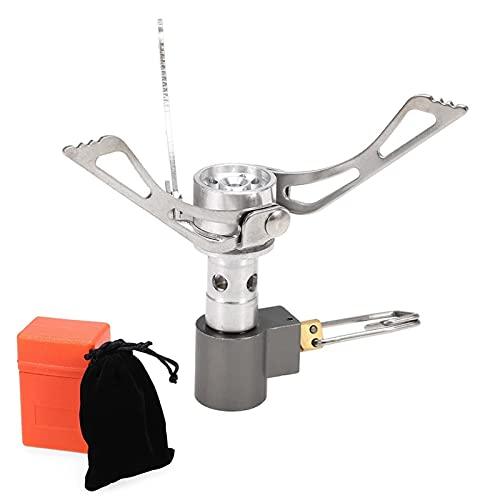 GYXGSTG Estufa Mini hornillos de Gas al Aire Libre Plegable portátil de cocción del Horno (Color : 4, Size : A)
