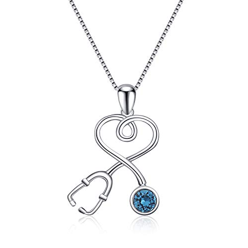 Stethoscope Pendant Necklace