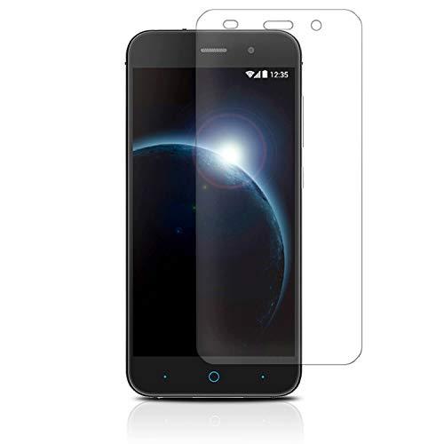 MYCASE 9H Bildschirmschutzfolie für ZTE Blade V6 | Transparent Hart Glasfolie | Echt Glas