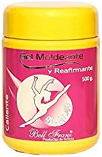 Colombian Hot Firming and Shaping Gel with Properties to Reduce Measures/Gel Caliente Moldeante Y Refirmante 17.6 oz 500g (500g)