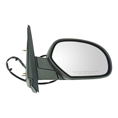 Textured Black Power Heated Side Mirror Passenger Right RH for Chevy Pickup