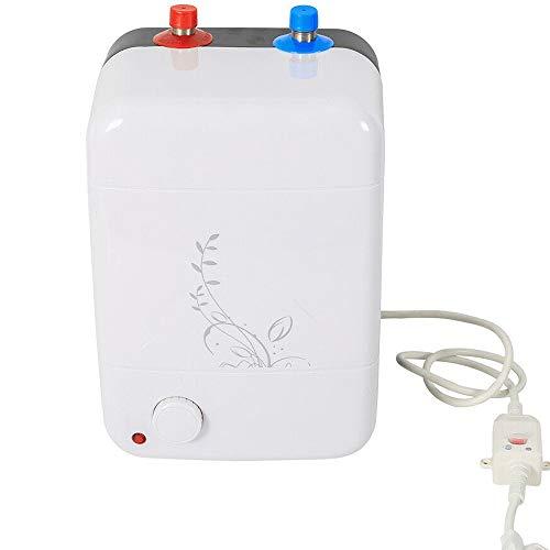 Scaldabagno elettronico 0.7 Mpa scaldabagno sottolavello, piccolo, 8 litri, 1,5 kW, selezione continua della temperatura 30-75 °C