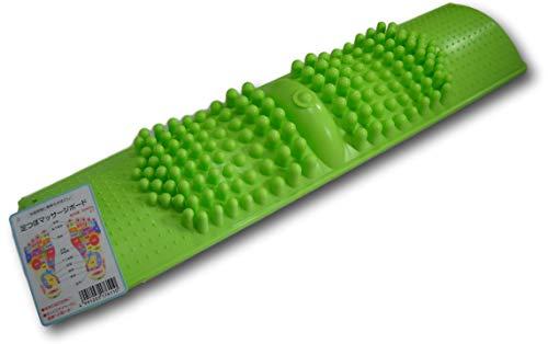 Japanese Foot Massage Mat Board Acupressure Shiatsu Circulation Reflexology with Nubs (Light Green)