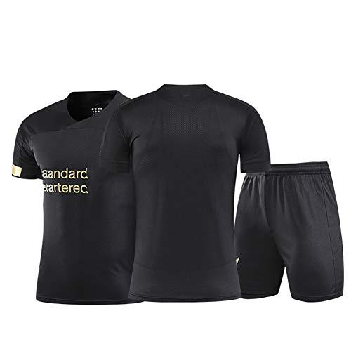 FDSEW 19-20 Temporada Camiseta de fútbol de Inglaterra 5Wijnaldum 10Mane 11Salah 66Arnold Hombres, Traje de fútbol Deportes, Malla de poliéster Transpirable Camiseta + Shorts + Calcetine Customize-S