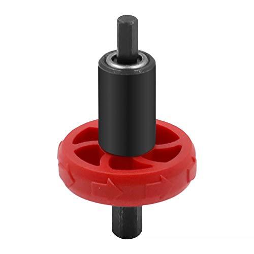 Scicalife Cortacésped Arrancador Manos Tipo Empujar Cortacésped Arrancador Adaptador de Arranque Diesel (Rojo)