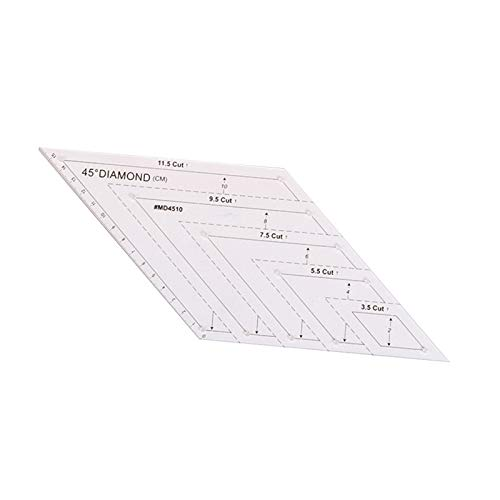 Janly Clearance Sale Quilting Templates Sewing Machine Domestic Free Motion Transparent Straight , Home DIY forHome & Garden , Easter St Patrick's Day Deal (C)