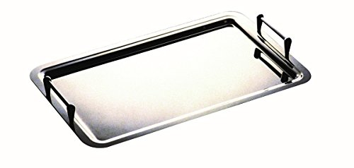 Mepra Giotto Tray with Stackable Handles 45 cm Dishwasher Safe Serveware
