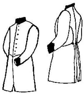 Military Frock Coat Pattern - Large (46-50