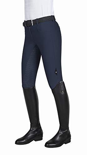 Equiline Damenreithose CEDAR Reithose für Damen mit Fullgrip Größe 34, Farbe blue