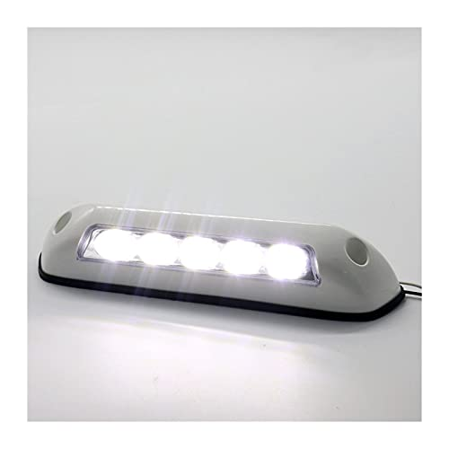 ZIHAN Feil Store 12V RV LED Toldo Porche Light Impermeable Motorhome Caravan Interior Lámparas de Pared Luz Bar RV Van Camper