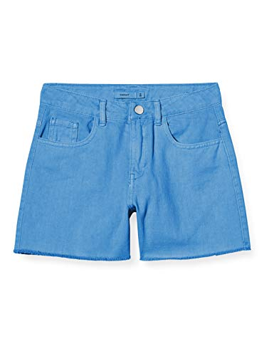 NAME IT Mädchen NKFRANDI MOM TWIIZZA Camp Shorts, Marina, 146