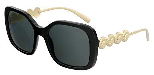 Versace 0VE4375 Sonnenbrille, Black/Grey, 53/18/135