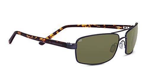 Serengeti Eyewear Sonnenbrille San Remo, Satin Gunmetal/Polarized, 8452
