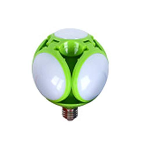 TTFLY - Luces LED para garaje, plegable, luz nocturna deformable, 4 paneles ajustables
