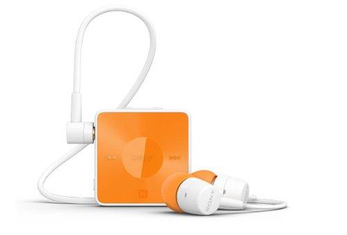Sony SBH20 im Ohr Binaural Kabellos Orange Mobiles Headset - Mobile Headsets (Kabellos, im Ohr, Binaural, Im Ohr, 20-20000 Hz, Orange)