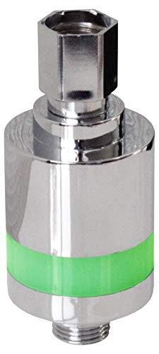 EcoSavers LED Dusch Timer Duschetimer Duschcoach Zeit durch LED-Farbe Grün Blau Rot - braucht keine Batterien - Einfach Wasser und Energie sparen